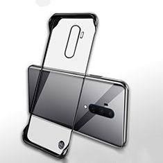 Handyhülle Hülle Crystal Tasche Schutzhülle H02 für OnePlus 7T Pro Schwarz
