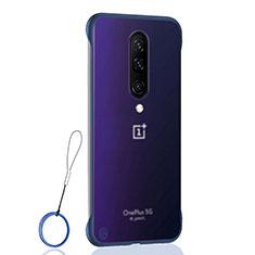 Handyhülle Hülle Crystal Tasche Schutzhülle H02 für OnePlus 8 Blau