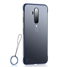Handyhülle Hülle Crystal Tasche Schutzhülle H03 für OnePlus 7T Pro Blau
