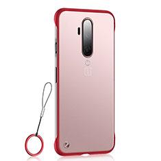 Handyhülle Hülle Crystal Tasche Schutzhülle H03 für OnePlus 7T Pro Rot