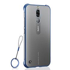 Handyhülle Hülle Crystal Tasche Schutzhülle H03 für Xiaomi Redmi 8 Blau