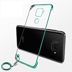 Handyhülle Hülle Crystal Tasche Schutzhülle H04 für Huawei Nova 5i Pro Grün