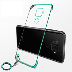 Handyhülle Hülle Crystal Tasche Schutzhülle H04 für Huawei Nova 5z Grün