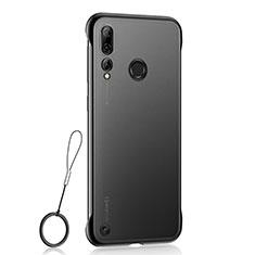 Handyhülle Hülle Crystal Tasche Schutzhülle S01 für Huawei Honor 20 Lite Schwarz