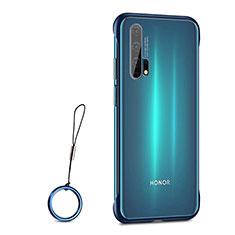 Handyhülle Hülle Crystal Tasche Schutzhülle S01 für Huawei Honor 20 Pro Blau
