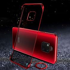 Handyhülle Hülle Crystal Tasche Schutzhülle S01 für Huawei Mate 20 Pro Rot
