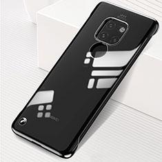 Handyhülle Hülle Crystal Tasche Schutzhülle S01 für Huawei Mate 20 Schwarz