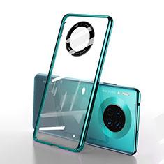 Handyhülle Hülle Crystal Tasche Schutzhülle S01 für Huawei Mate 30 5G Grün