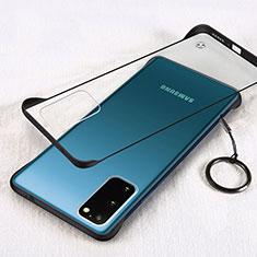 Handyhülle Hülle Crystal Tasche Schutzhülle S02 für Samsung Galaxy S20 5G Schwarz