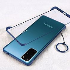 Handyhülle Hülle Crystal Tasche Schutzhülle S02 für Samsung Galaxy S20 Plus 5G Blau