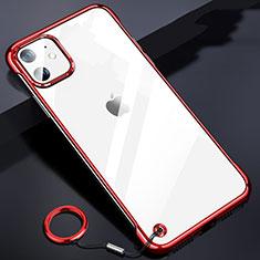 Handyhülle Hülle Crystal Tasche Schutzhülle S03 für Apple iPhone 11 Rot