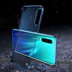 Handyhülle Hülle Crystal Tasche Schutzhülle S03 für Huawei P30 Blau