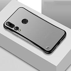 Handyhülle Hülle Crystal Tasche Schutzhülle S04 für Huawei Honor 20 Lite Schwarz