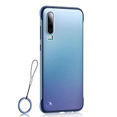 Handyhülle Hülle Crystal Tasche Schutzhülle S04 für Huawei P30 Blau