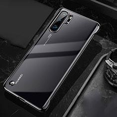 Handyhülle Hülle Crystal Tasche Schutzhülle S04 für Huawei P30 Pro Schwarz
