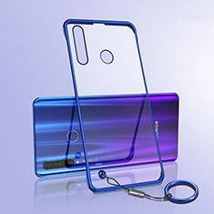 Handyhülle Hülle Crystal Tasche Schutzhülle S05 für Huawei Honor 20 Lite Blau