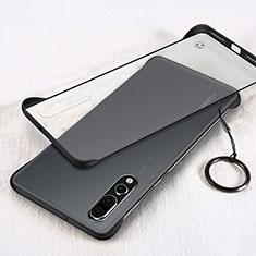 Handyhülle Hülle Crystal Tasche Schutzhülle S05 für Huawei P20 Pro Schwarz