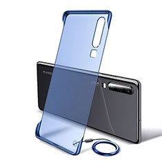 Handyhülle Hülle Crystal Tasche Schutzhülle S05 für Huawei P30 Blau