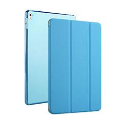 Handyhülle Hülle Flip Stand Tasche Leder für Apple iPad Pro 9.7 Hellblau