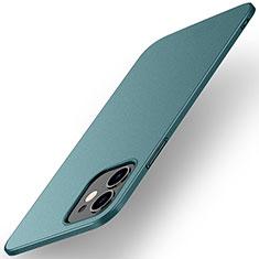 Handyhülle Hülle Hartschalen Kunststoff Schutzhülle Tasche Matt M01 für Apple iPhone 12 Mini Grün