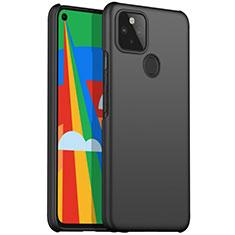 Handyhülle Hülle Hartschalen Kunststoff Schutzhülle Tasche Matt M01 für Google Pixel 5 Schwarz