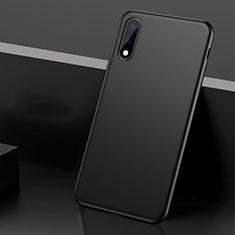 Handyhülle Hülle Hartschalen Kunststoff Schutzhülle Tasche Matt M01 für Huawei Enjoy 10 Schwarz