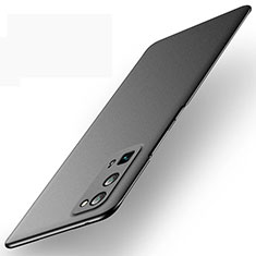 Handyhülle Hülle Hartschalen Kunststoff Schutzhülle Tasche Matt M01 für Huawei Honor 30 Pro Schwarz