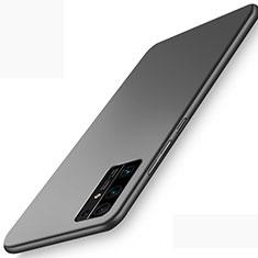 Handyhülle Hülle Hartschalen Kunststoff Schutzhülle Tasche Matt M01 für Huawei Honor 30 Schwarz