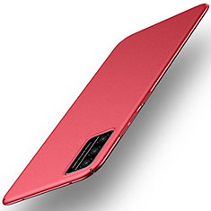 Handyhülle Hülle Hartschalen Kunststoff Schutzhülle Tasche Matt M01 für Huawei Honor Play4T Pro Rot