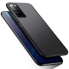 Handyhülle Hülle Hartschalen Kunststoff Schutzhülle Tasche Matt M01 für Huawei Honor X10 5G Schwarz