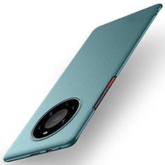 Handyhülle Hülle Hartschalen Kunststoff Schutzhülle Tasche Matt M01 für Huawei Mate 40 Pro+ Plus Grün