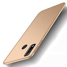 Handyhülle Hülle Hartschalen Kunststoff Schutzhülle Tasche Matt M01 für Huawei Y8s Gold