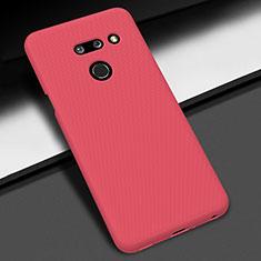 Handyhülle Hülle Hartschalen Kunststoff Schutzhülle Tasche Matt M01 für LG G8 ThinQ Rot
