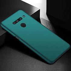 Handyhülle Hülle Hartschalen Kunststoff Schutzhülle Tasche Matt M01 für LG V50 ThinQ 5G Grün