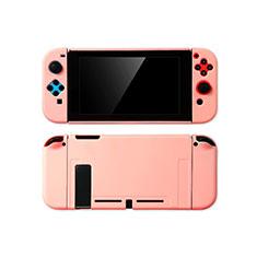 Handyhülle Hülle Hartschalen Kunststoff Schutzhülle Tasche Matt M01 für Nintendo Switch Rosa