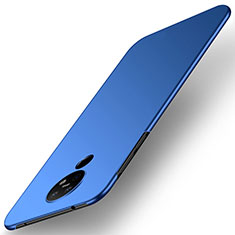 Handyhülle Hülle Hartschalen Kunststoff Schutzhülle Tasche Matt M01 für Nokia 6.2 Blau