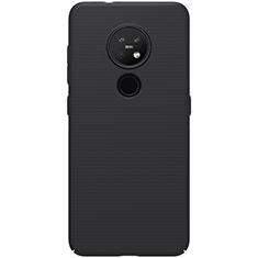 Handyhülle Hülle Hartschalen Kunststoff Schutzhülle Tasche Matt M01 für Nokia 7.2 Schwarz