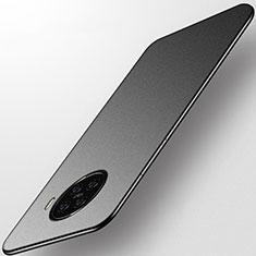 Handyhülle Hülle Hartschalen Kunststoff Schutzhülle Tasche Matt M01 für Oppo Ace2 Schwarz