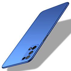 Handyhülle Hülle Hartschalen Kunststoff Schutzhülle Tasche Matt M01 für Oppo K7x 5G Blau