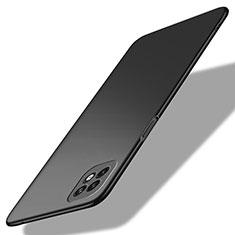 Handyhülle Hülle Hartschalen Kunststoff Schutzhülle Tasche Matt M01 für Oppo Reno4 SE 5G Schwarz