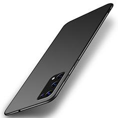 Handyhülle Hülle Hartschalen Kunststoff Schutzhülle Tasche Matt M01 für Realme X7 5G Schwarz