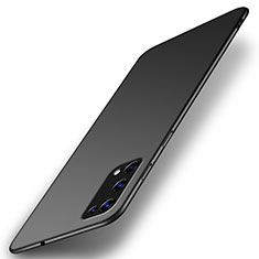 Handyhülle Hülle Hartschalen Kunststoff Schutzhülle Tasche Matt M01 für Realme X7 Pro 5G Schwarz