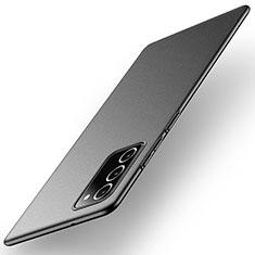 Handyhülle Hülle Hartschalen Kunststoff Schutzhülle Tasche Matt M01 für Samsung Galaxy Note 20 5G Schwarz