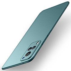 Handyhülle Hülle Hartschalen Kunststoff Schutzhülle Tasche Matt M01 für Vivo X60 5G Grün