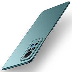 Handyhülle Hülle Hartschalen Kunststoff Schutzhülle Tasche Matt M01 für Vivo X60 Pro 5G Grün