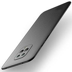 Handyhülle Hülle Hartschalen Kunststoff Schutzhülle Tasche Matt M01 für Xiaomi Redmi 10X Pro 5G Schwarz