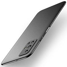 Handyhülle Hülle Hartschalen Kunststoff Schutzhülle Tasche Matt M02 für Huawei Honor 30S Schwarz