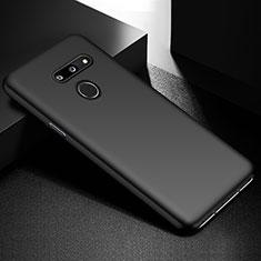Handyhülle Hülle Hartschalen Kunststoff Schutzhülle Tasche Matt M02 für LG G8 ThinQ Schwarz