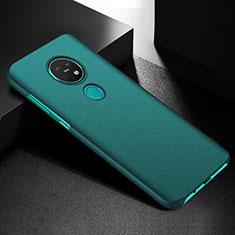 Handyhülle Hülle Hartschalen Kunststoff Schutzhülle Tasche Matt M02 für Nokia 7.2 Grün