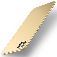Handyhülle Hülle Hartschalen Kunststoff Schutzhülle Tasche Matt M02 für Oppo Reno4 SE 5G Gold